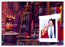 オバマとダライ・ラマの写真