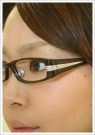 眼鏡/12,600円(Opt LABELオリジナル)
