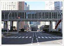 東京マラソンのスタート地点、東京都庁
