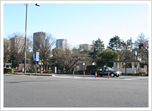 飯田橋から竹橋へ、皇居に興奮!?