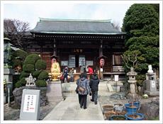 北区にある「東覚寺」。1月に行われた七福神巡りにて