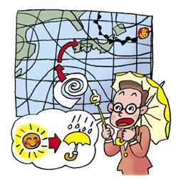 天気予報を確認しよう