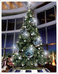 六本木ヒルズ 鏡リュウジproduce スター・クリスマスツリー