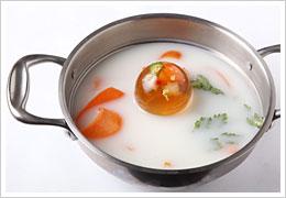 豆乳雪見コラーゲンボール鍋
